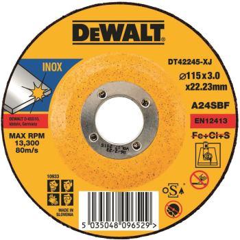 Standard Edelstahl-Trennscheibe - gekrö DT42245