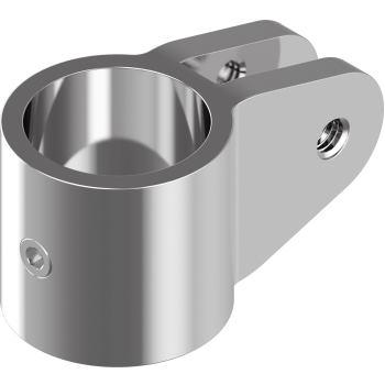 Rohrmittelstück D= 30 mm, A4
