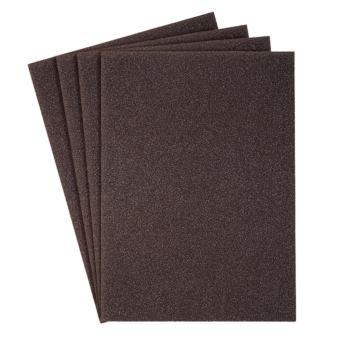 Schleifgewebe-Bogen, braun, KL 385 JF Abm.: 230x280, Korn: 400