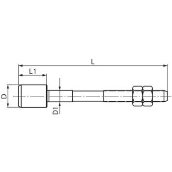 Führungszapfen komplett Größe 1 6,4 mm GZ 1100640