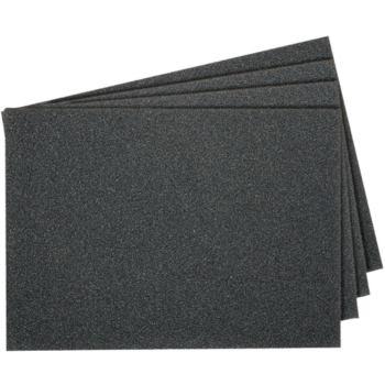 Schleifpapier-Bogen, wasserfest, PS 11 A Abm.: 230x280, Korn: 600