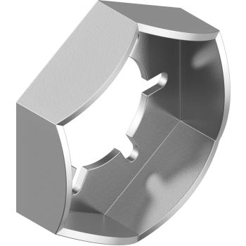 Sicherungsmuttern DIN 7967 - Edelstahl A4 M12