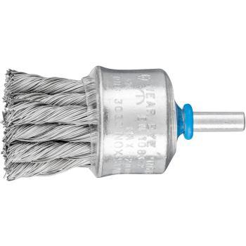 Pinselbürste mit Schaft, gezopft PBG 3030/6 INOX 0,35