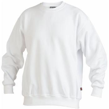 Sweatshirt weiß Gr. 5XL