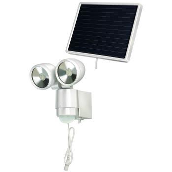 Solar LED-Spot SOL 2x4 IP44 mit Infrarot-Bewegungs