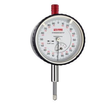 Feinmessuhr 0,001mm / 5mm / 58mm / Stoßschutz / ISO 463 - Werksnorm 10056