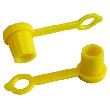 Schutzkappen gelb für Kegel-Schmiernippel 3286101