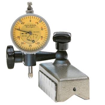 Messuhr-Magnethalter schwenkbar ganze Höhe 57 mm o