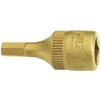 """1/4"""" Zoll Inbus Schraubendrehereinsatz 8 mm"""