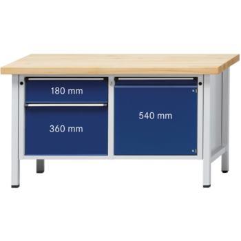 ANKE Werkbank Modell 232 V Platte Buche-Massiv 150
