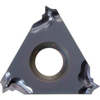 Vollprofil-Wendeschneidplatte Innengew.rechts 16IR B 1,0 ISO HC6615 Stg.1