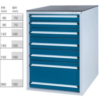 Werkzeugschrank System 800 S, Modell 32/6 GS -
