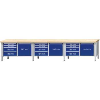 Werkbank Modell 131 V Platte Zinkblechbelag (