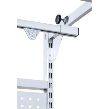 Geräteschiene 2000 mm RAL 7035 lichtgrau