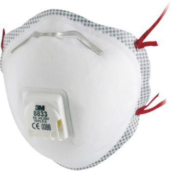 3 M Atemschutzmaske FFP 3 Box a 10 Stück, 3M-Typ 8