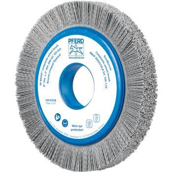 Rundbürste mit Plastikkörper, ungezopft RBUP 20025/50,8 SiC 120 1,10
