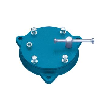 Drehuntersatz blau 360 Grad Drehbar für 140