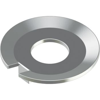 Sicherungsbleche mit Nase DIN 432 - Edelstahl A4 5,3 für M 5