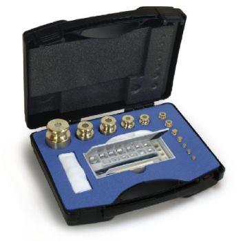 M1 Gewichtsatz, 1 mg - 2 kg, / Messing feingedreht