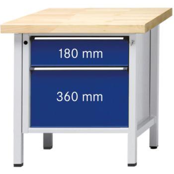 Werkbank Modell 55 V ZBP Tragfähigkeit 1500kg