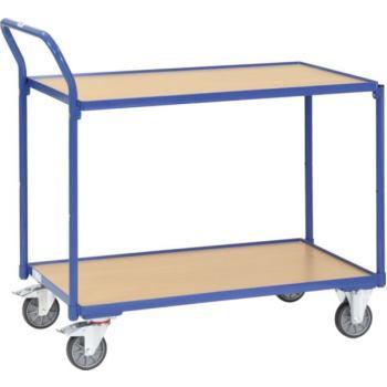 Tischwagen 2742 Ladefläche 1.000 x 600 mm mit 2 Bö