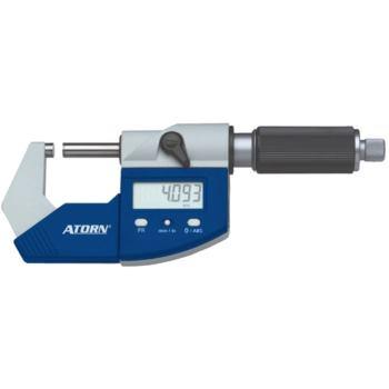 Bügelmessschraube 25 - 50 mm 0,001 mm ZW mit Daten ausgang im Etui