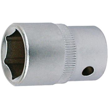 Steckschlüsseleinsatz 19 mm 1/2 Inch DIN 3124 Sech skant