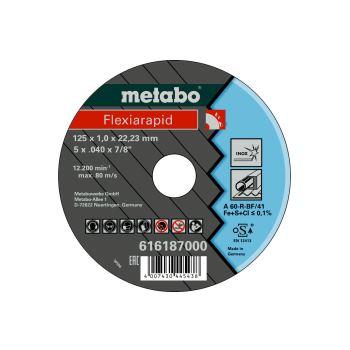 Flexiarapid 125x1,0x22,23 Inox, Trennscheibe, gera