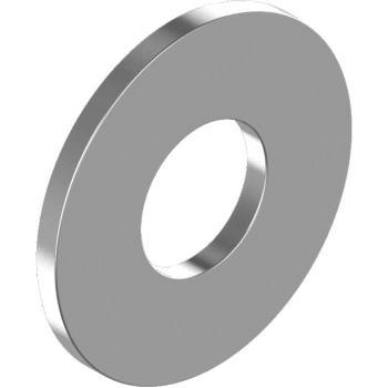 Karosseriescheiben - Edelst. A4 4,3x12x1,0 f. M 4 , dünne Unterlegscheiben