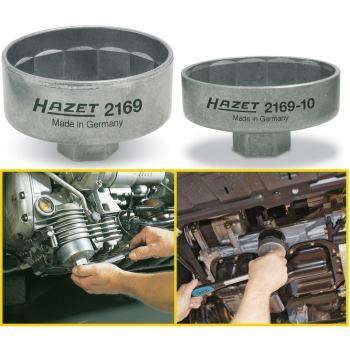 Ölfilter-Schlüssel 2169-10 · Vierkant hohl 10 mm(3/8 Zoll) · Außen-14-kant Profil