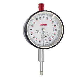 Feinmessuhr 0,001mm / 5mm / 58mm / ISO 463 - Werksnorm 10059