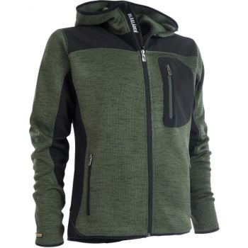 Blåkläder Trend Strickjacke oliv schwarz | XL