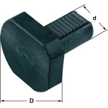 Schutzstopfen DIN 69880 Schaft 60 mm aus Kunst