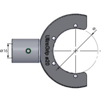 Diebold Einsatz Profilschlüssel UlraGrip D= 32 233