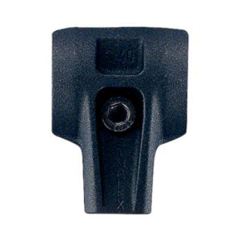 C-Gehäuse 80mm Temperguss schwarz für Simplex 3711