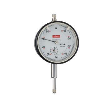 Messuhr 0,01mm / 10mm / 58mm / doppelter Schaft /ISO 463 - DIN 878 fu ungeprüft 10261