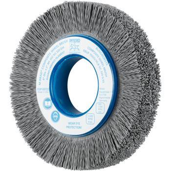 Rundbürste mit Plastikkörper, ungezopft RBUP 15025/50,8 SiC 320 0,55