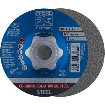 CC-Grind®-SOLID-Schleifscheibe CC-GRIND-SOLID 100 SG-STEEL
