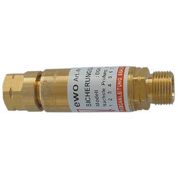 Sintermetall-Flammensperre für Sauerstoff-Druckmi