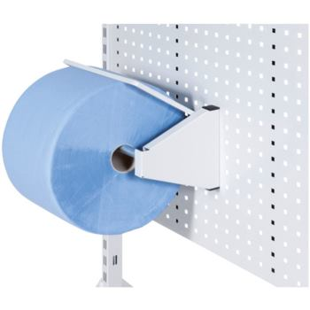 Papierabroller zur Aufnahme in Lochblech-Wand 1