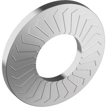 Sperrkantscheiben Form B - breit - Edelstahl A4 SKB 10 für M10
