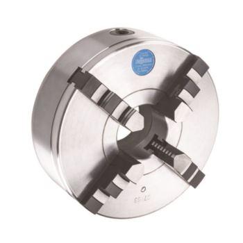 ZS 125, 4-Backen, DIN 6350, Bohr- und Drehbacken, Form A, Stahlkörper