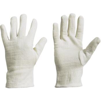 Schutzhandschuhe aus Baumwoll-Jersey, Gr. 10