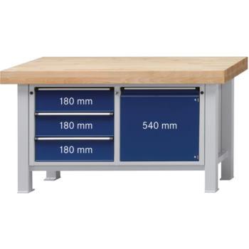 Werkbank Modell 106 VS Platte Buche-Massiv, 1