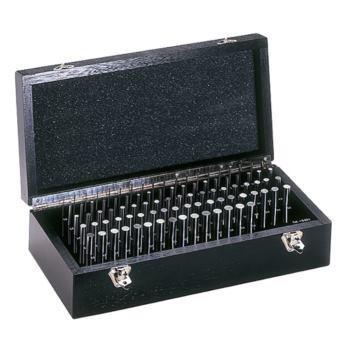 Prüfstifte Tkl. 1 +/-1 mµ Durchm. 1,00-5,00 Stg.0, 10 im Holzkasten
