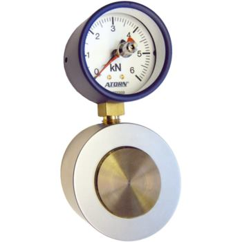 Kraftmessdose Messbereich: 0 - 6 kN Skalenteilungs wert: 0,2 kN