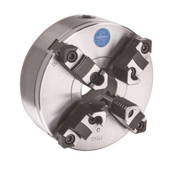 ZSU 400, KK 8, 4-Backen, ISO 702-2, Grund- und Aufsatzbacken, Stahlkörper,