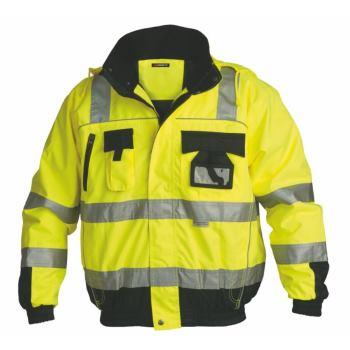 Warnschutz-Blouson Klasse 3 gelb Gr. M