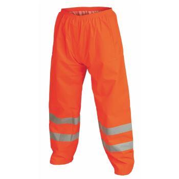 Warnschutz-Regenhose Klasse 1 orange Gr. XXL
