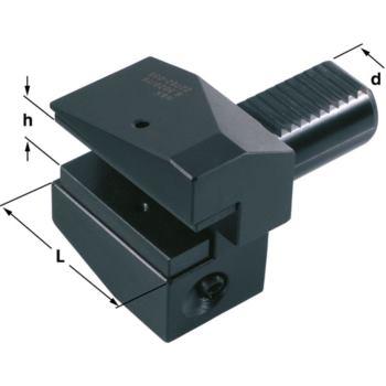 Radialhalter DIN 69880 Schaft 40 mm Größe 20/25 F